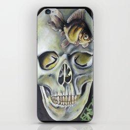 aquatic horror iPhone Skin