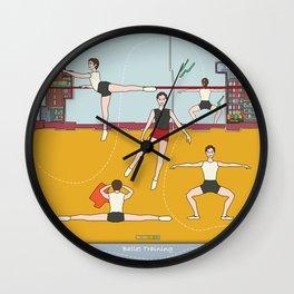 Ballet Training Wall Clock