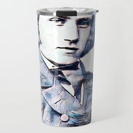 Johannes Brahms (1833 – 1897) in 1853 (3) Travel Mug