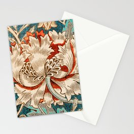 Honeysuckle (1876) by William Morris, Abstract I Poster Stationery Cards