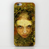 pagan iPhone & iPod Skins featuring Pagan by Charlie Terrell