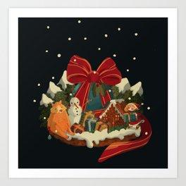 Christmas Island Art Print