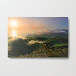 Azores islands landscape Metal Print