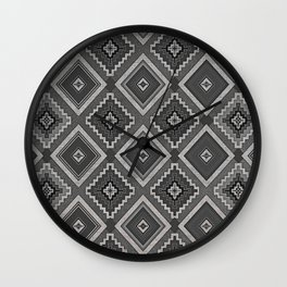 Indi-abstract#01 Wall Clock