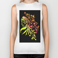 indie Biker Tanks featuring Midnight Indie by trendaholic