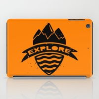 explore iPad Cases featuring Explore  by Dylan Morang