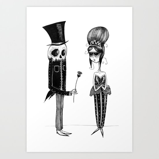Love Never Dies Art Print