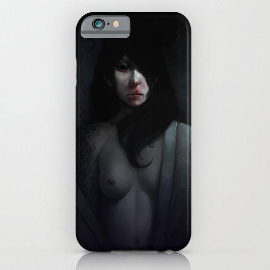 Portrait of Ikuko's Ghost iPhone & iPod Case