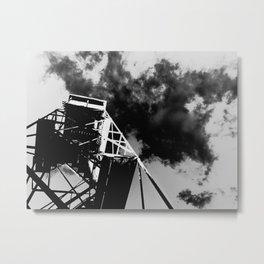Poko Fire Tower Metal Print
