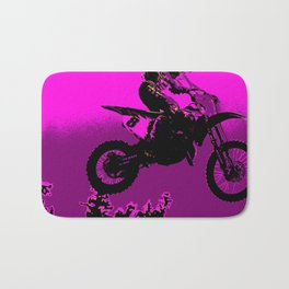 MX  - Motocross Racer Bath Mat