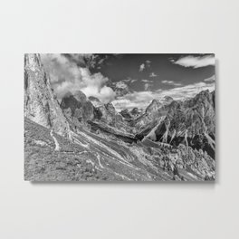mountains, the Dolomites in South Tyrol Metal Print