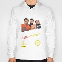 inside gaming Hoodies featuring 8 Bit Inside Gaming by Jin Smoth