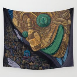 The Hard Sell Wall Tapestry