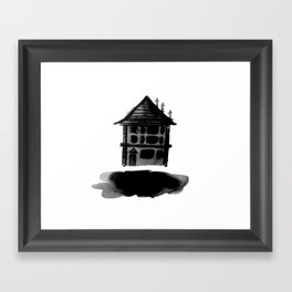 Floating Home Framed Art Print