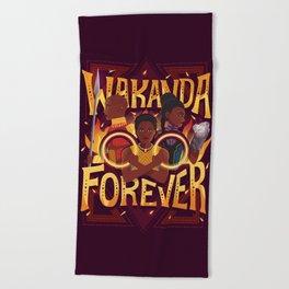 Women of Wakanda Beach Towel