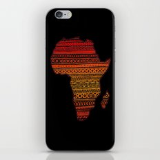 AFRIKA iPhone & iPod Skin