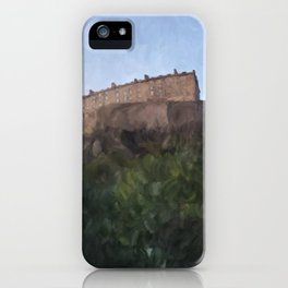 Edinburgh Castle from Johnston Terrace iPhone Case