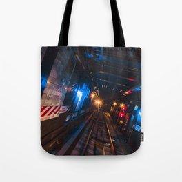 New York Subway flicks Tote Bag