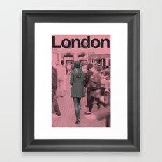 LONDON Framed Art Print