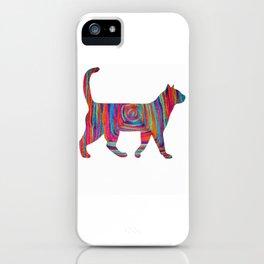 yarn Squart cat iPhone Case