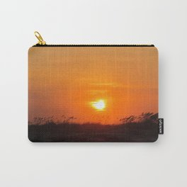 Sea Oat Sunset Carry-All Pouch