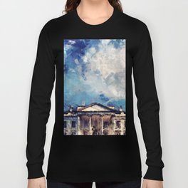White House On A Sunny Day Long Sleeve T-shirt