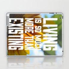 Living&existing Laptop & iPad Skin