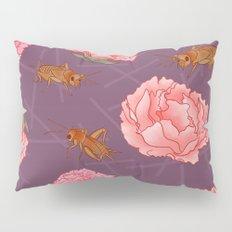 Carnations & Crickets Pillow Sham