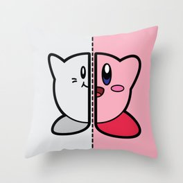 Old & New Kirby Throw Pillow