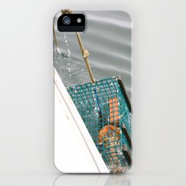 the Nautical Press / lobster boat iPhone Case