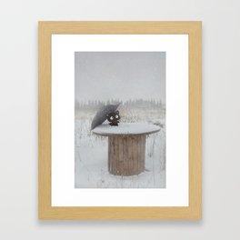 Winter Adventures Framed Art Print