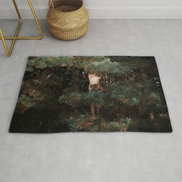 The Eyes of the Forest Rug
