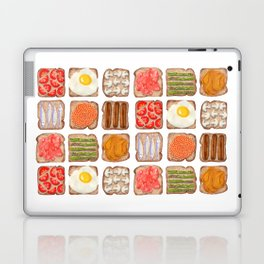 Breakfast Toast Laptop & iPad Skin