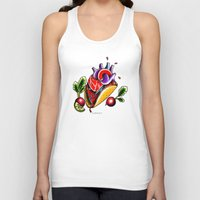 taco Tank Tops featuring Taco  by alxbngala
