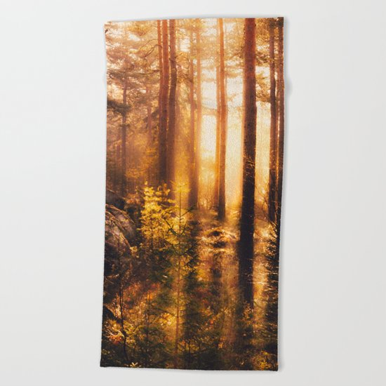 Take me! Beach Towel