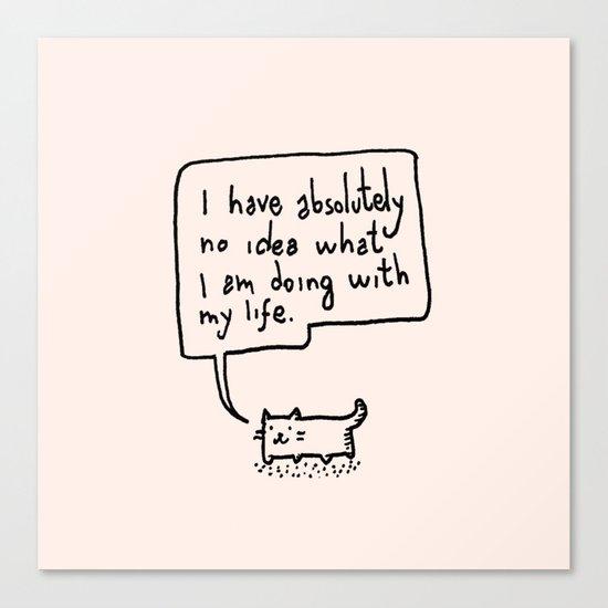 Little Cat Canvas Print