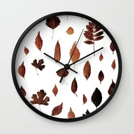 signs of AUTUMN Wall Clock
