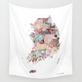 South Korea Wall Tapestry