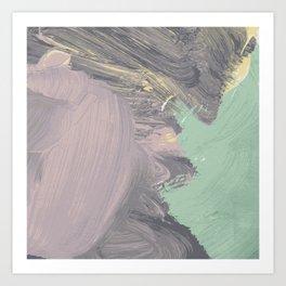 Storming Pastel Art Print