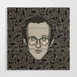 Keith Haring - Tribute Wood Wall Art