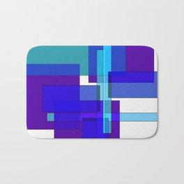 Squares combined no. 2 Bath Mat