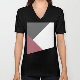Elegant geometric design Unisex V-Neck
