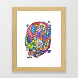 Drawing #40 Framed Art Print