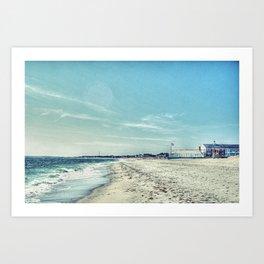Cape Cod Florida Art Print