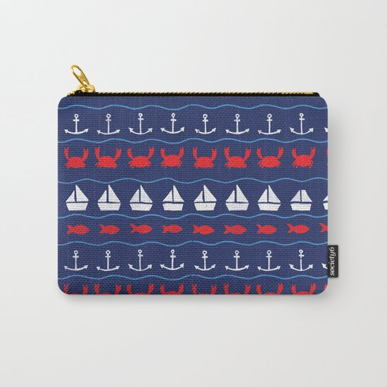 Summer Pattern Carry-All Pouch