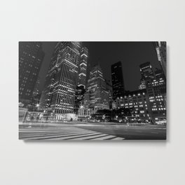 The Fifth Avenue at Night New York City 2019 Metal Print