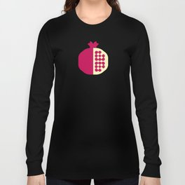 Fruit: Pomegranate Long Sleeve T-shirt