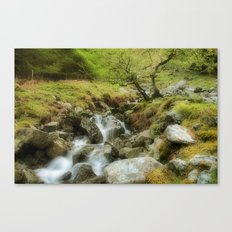 Oasis in the Hills Canvas Print