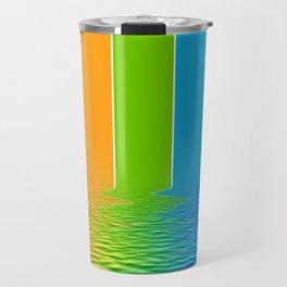 spectrum water reflection Travel Mug
