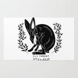 The Blind Jack Rabbit Rug